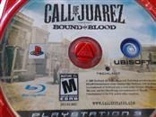 SONY PS3 CALL OF JUAREZ